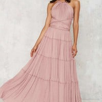 Nasty Gal Bacall Maxi Dress