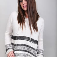 Tribal Striped Billabong Hoodie