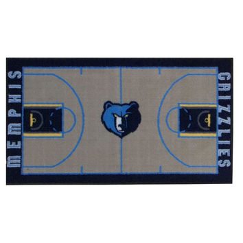 NBA Memphis Grizzlies Rug Basketball Runner Carpet