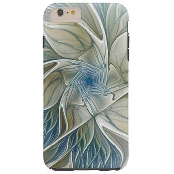 A Floral Dream Pattern Abstract Fractal Art Tough iPhone 6 Plus Case