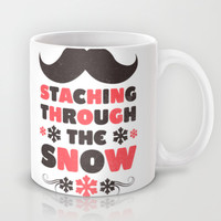 Staching Through the Snow Mug by LookHUMAN