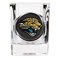 Jacksonville Jaguars 2oz Square Shot Glass - Etching Personalized Gift Item