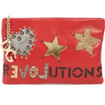 Dolce&Gabbana Medium Cleo Revolution Clutch | Nordstrom