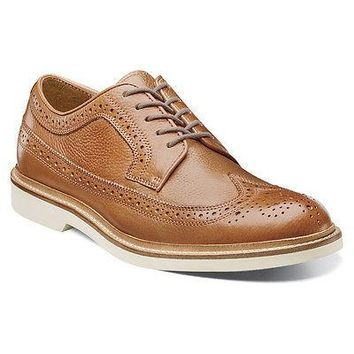NEW FLORSHEIM BUCKTOWN WING OX saddle tan MENS SHOES