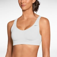 Nike Scoop Back Women's Sports Bra - White