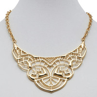 Filigree Statement Necklace | Wet Seal