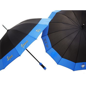 Sigma Gamma Rho 14 Panel Sassy Umbrella (Black) …