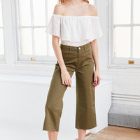 BDG Britt Cropped Culotte Pant | Urban Outfitters