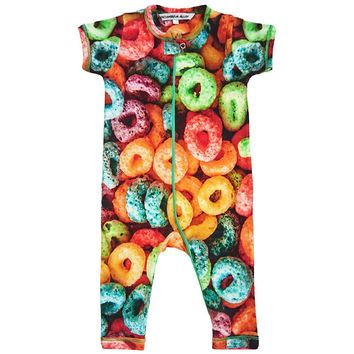 Romper - Full Leg - Froot Loops