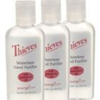 Young Living Thieves Hand Purifier 1 oz - 3 Packs