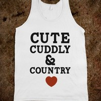 White Tank   Cute Country Shirts