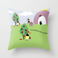 Off with Her Head! Throw Pillow by lalainelim
