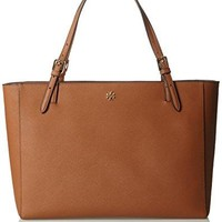 Tory Burch York Buckle Tote Saffiano Leather