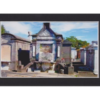Gothic Dark Art, Cemetery Blues, New Orleans Fine Art print, Cemetery Architecture, Ready to Frame
