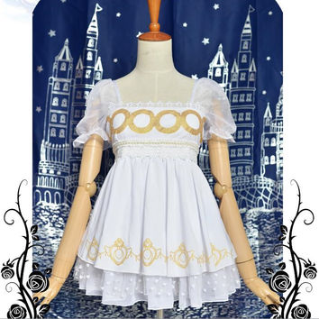 Sailor Moon Princess Serenity Short Dress Free Ship SP141125