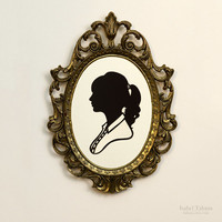Taylor Swift Handcut Paper Silhouette