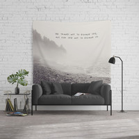 we travel Wall Tapestry by Sylvia Cook Photography
