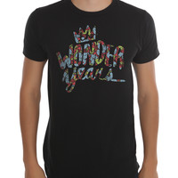 The Wonder Years Floral Logo Slim-Fit T-Shirt