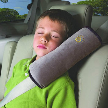 Childrens Seat Belt Covers- Soft Headrest, Cushion Neck Pillow, Shoulder Pad, Soft Comfy Pillow