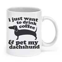 Dachshund Mug Dog Mug Dachshund Gifts Coffee Mug Wiener Dog Lover Gift Dachshund Cup Doxie Mug Ceramic Mug Animal Mug Weiner Dog Tea Cup