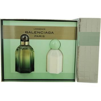 BALENCIAGA PARIS L'ESSENCE by Balenciaga EAU DE PARFUM SPRAY 2.5 OZ & BODY LOTION 3.4