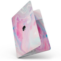 """Marbleized Pink Paradise V5 - 13"""" MacBook Pro without Touch Bar Skin Kit"""