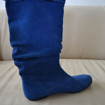 Bright Blue Boots (Small/Indie Brands)