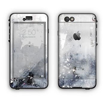 The Grunge White & Gray Texture Apple iPhone 6 Plus LifeProof Nuud Case Skin Set