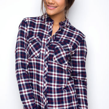 Well Behaved Plaid Top