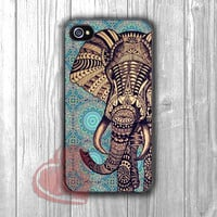 Elephant on mosaic pattern -LsT for iPhone 4/4S/5/5S/5C/6/ 6+,samsung S3/S4/S5,samsung note 3/4