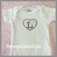 Baby Girl Onesuit, Personalized Onesuit, Pink and Grey Onesuit, Toddler Girl Shirt, Baby Girl Bodysuit