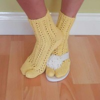 Flip Flops Socks, Tabi Socks, Lace Split Tot Socks, Summer Sandals Socks