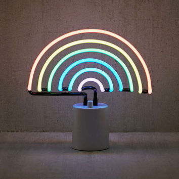 Sunnylife Rainbow Neon Sign Table Lamp | Urban Outfitters