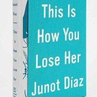 This Is How You Lose Her By Junot Diaz & Jaime Hernandez - Assorted One