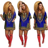 Traditional African Straight Print Dresses