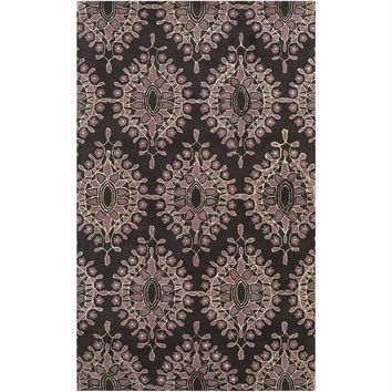 Area Rug - 5' X 8' - Colors Include Espresso