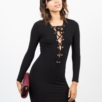 Little Laced Up Dress