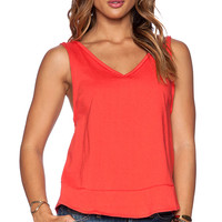 Free People Toying Around Tank in Red