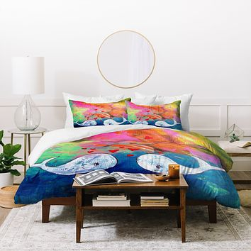 Sophia Buddenhagen I Whale Always Love You Duvet Cover