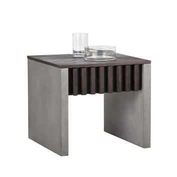 BAND BROWN END TABLE