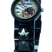 LEGO 9006821 Ninjago Cole ZX Kids' Minifigure Link Watch