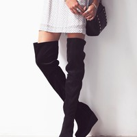 Free People Mind and Matter Over the Knee Boot