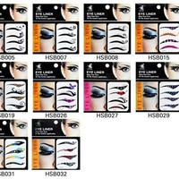 Online Shop eyeliner makeup Eyeliner Sticker Eyelids Liner stickers lashes eyelash Smoky Eyes Sticker free shipping|Aliexpress Mobile