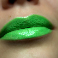 Bright Green Lipstick - Nourishing - Lime - All Natural