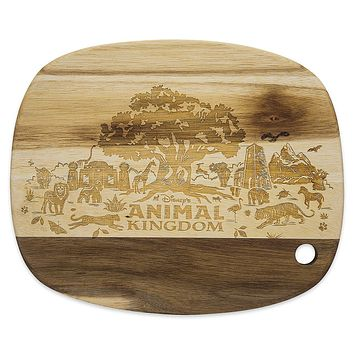 Disney Parks Animal Kingdom 20th Anniversary Wooden Cutting Board New
