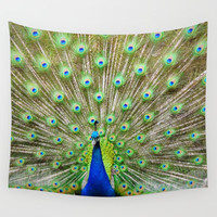 Let me see your Peacock Wall Tapestry by ZLAArtDesigns