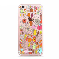 Fall's Favorite Things KAWAII Cartoon Fun Case for iPhone