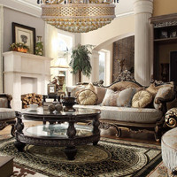 2 Piece Traditional HD-551 Living Room Set