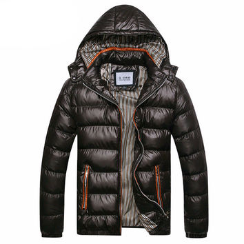 Men's Windproof Down Parka