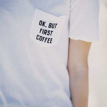 IEVA BUT FIRST COFFEE TOP